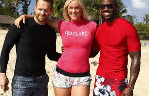 Bethany Hamilton Gives \'The Biggest Loser\' Contestants Surfing Lessons