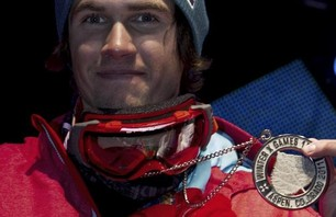 Bobby Brown wins silver in Men\'s Ski Big Air finals at Winter X Games 15.Credit: Christian Pondella