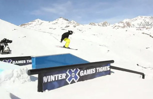 Gus Kenworthy Euro X-Games Course Preview