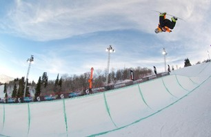 Gatorade Free Flow Tour Snowboard Superpipe Finals 2011