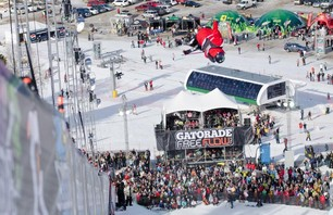 Gatorade Free Flow Tour Freeski Superpipe Finals 2011