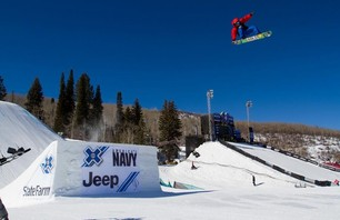 X Games Men\'s Snowboard Slopestyle Elimination Photo 0001