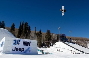 X Games Men\'s Snowboard Slopestyle Elimination Photo 0002