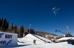 X Games Men\'s Snowboard Slopestyle Elimination Photo 0010
