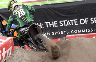 Salt Lake City 250 Supercross Race Photo 0003