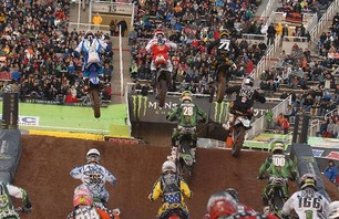 Salt Lake City 250 Supercross Race Photo 0005