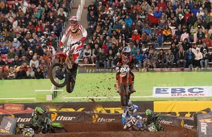 Salt Lake City 250 Supercross Race Photo 0007