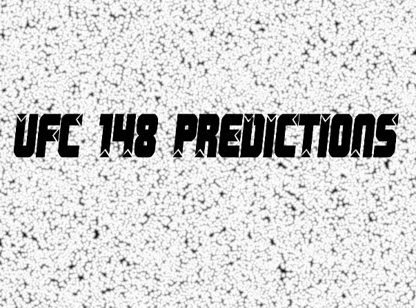 UFC 148 Silva Vs Sonnen predictions
