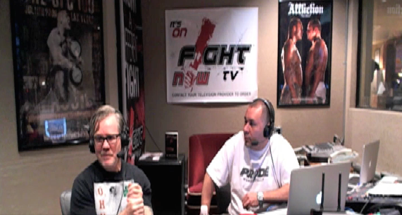 Clip of Freddie Roach\'s appearance on MMAjunkie.com Radio
