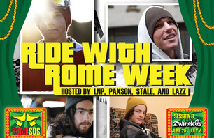 Rome Snowboards Team Week at Windells