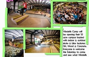 Windells open house! Get there and skate!