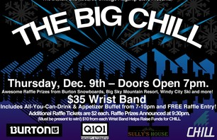 The Big Chill party in Chicago Thursday December 9th