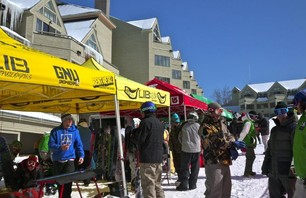 Industry report: New England reps and retailers head to Loon for on snow demo Photo 0001