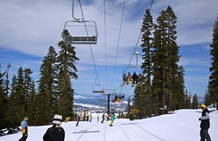 Spring days at Northstar-at-Tahoe