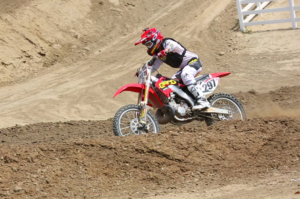 Racer X Films: Wil Hahn riding a CR250R Two Stroke