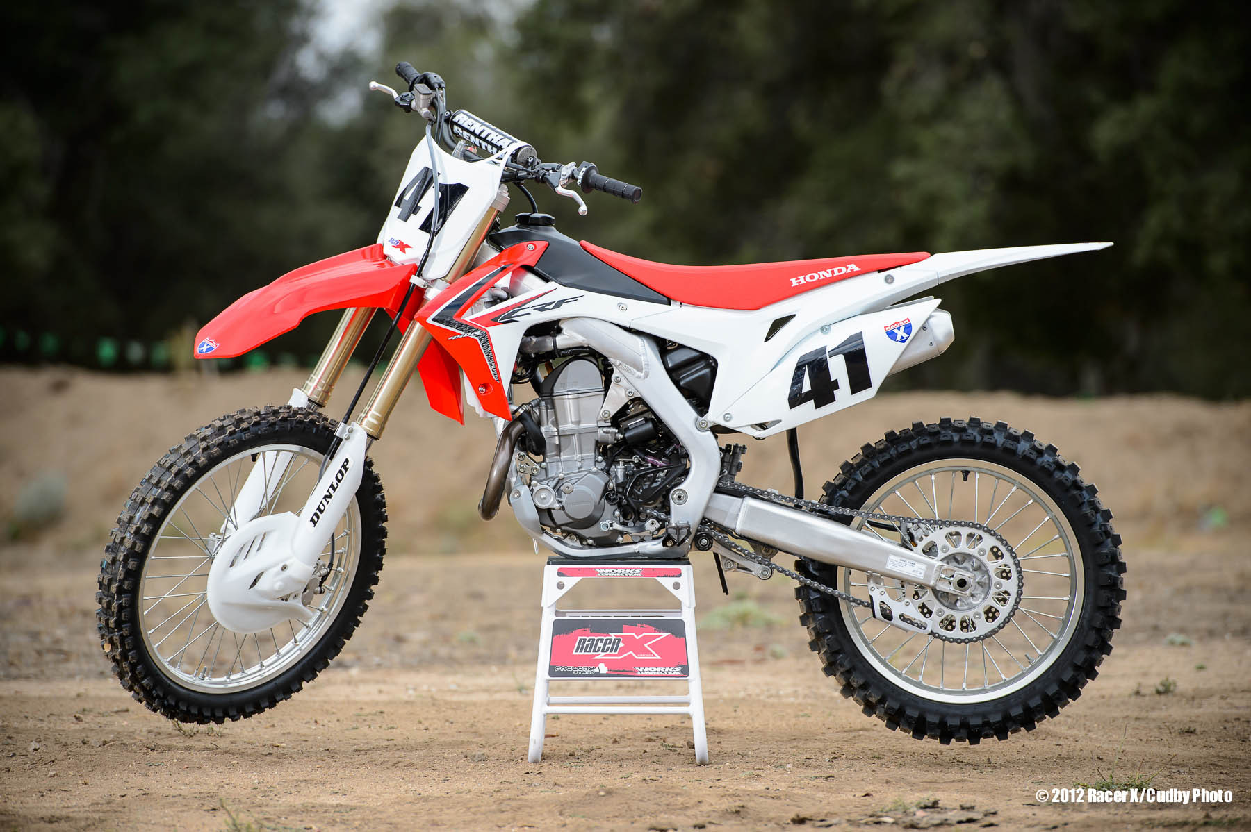 Racer X Tested:  2013 Honda Setup Tips