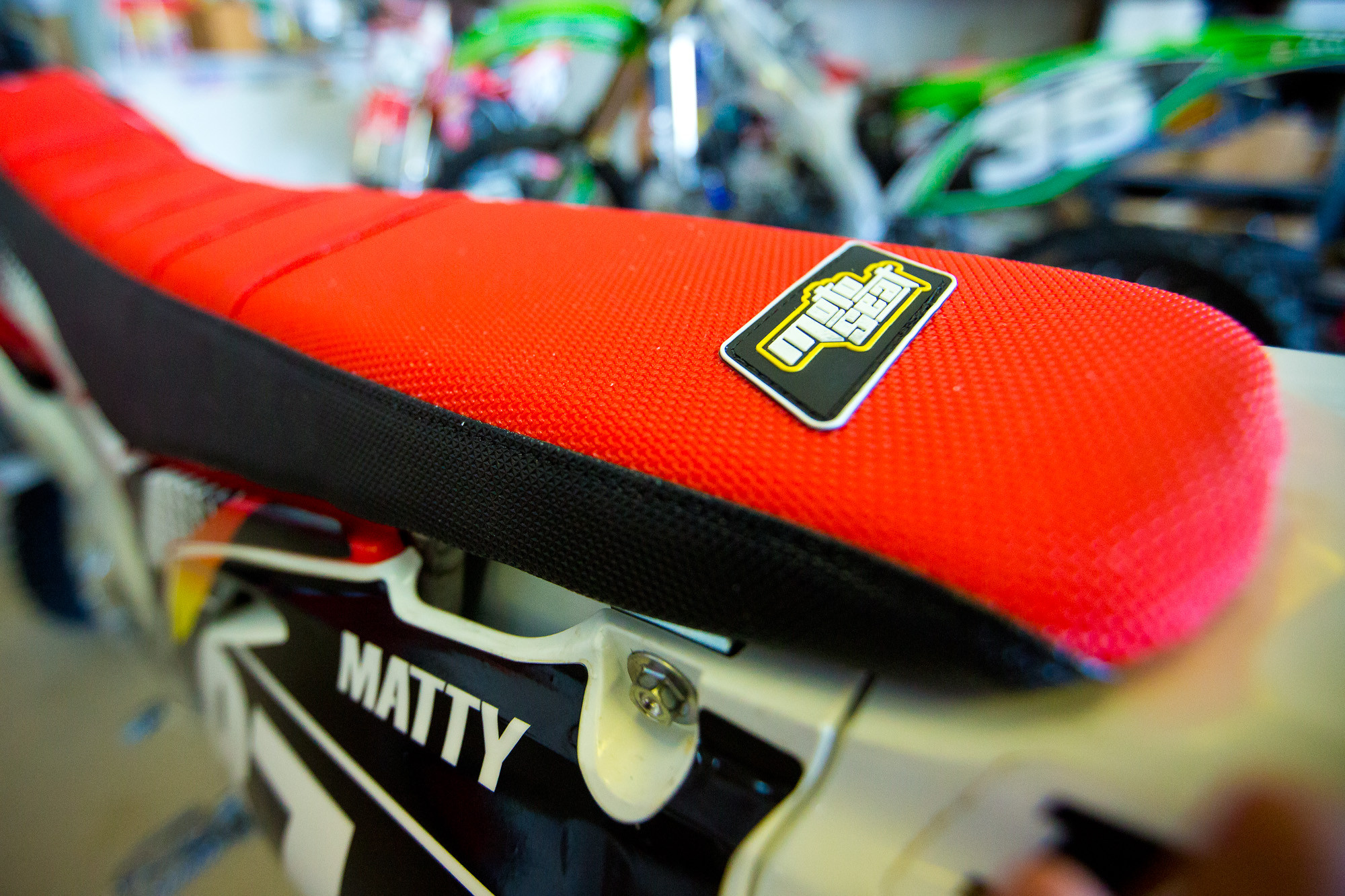 Racer X Tested:  Motoseat cover install tips