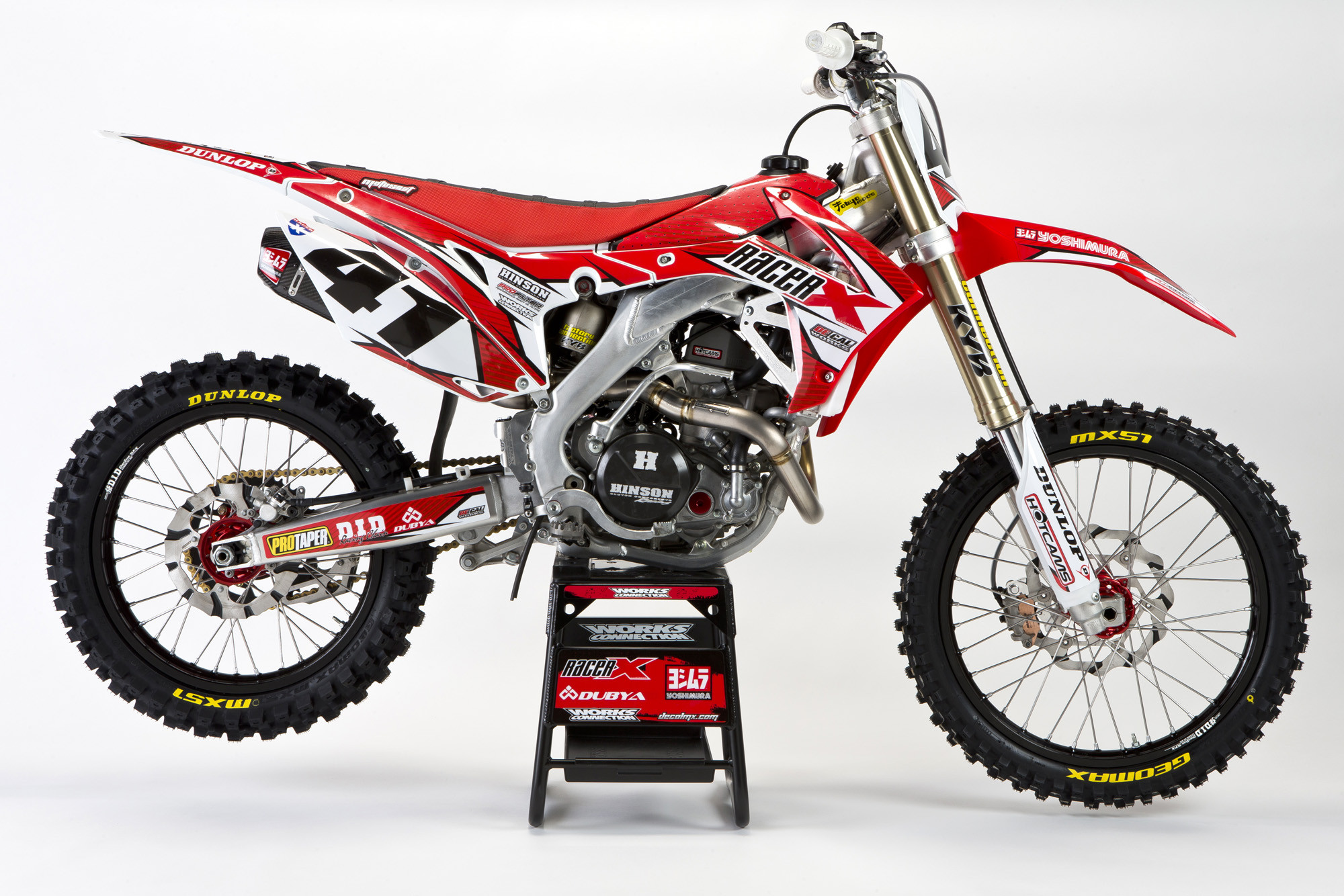 Racer X Tested:  2013 CRF450R