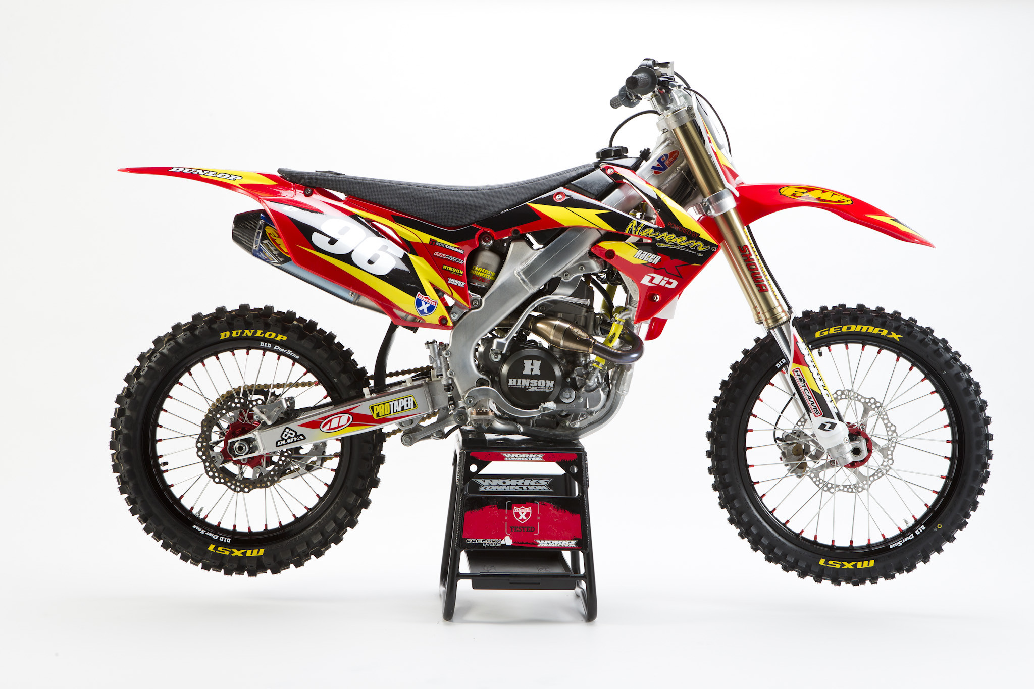 Racer X Tested:  2013 CRF250R