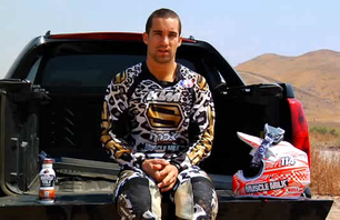 Justin Brayton Supercross Testing