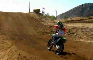 Ryan Villopoto\'s First 450 Ride