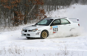 Travis Hanson captures top honors in 2011 Sno*Drift Rally