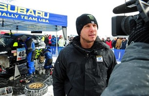 Dave Mirra Stages Comeback to Finish 2nd Overall at Season Opener Sno*Drift Rally