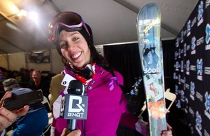 Winter X Games 2012: Catching Up With Roz Groenewoud