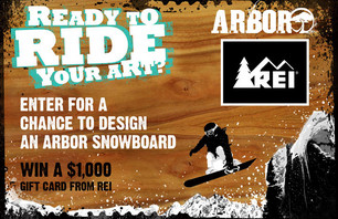 Arbor Snowboards Design Contest
