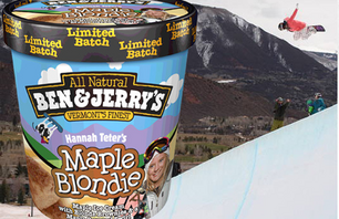 Ben & Jerry\'s Gives Hannah Teter Her Own Flavor