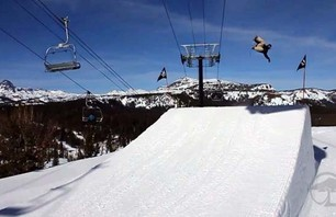 Mammoth Mountain Park Shred with Arbor Snowboards
