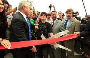 Rob Dyrdek\'s NoHo Skate Plaza Opening Gallery
