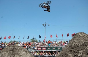 Dew Tour Chicago BMX Open Dirt Prelims Gallery