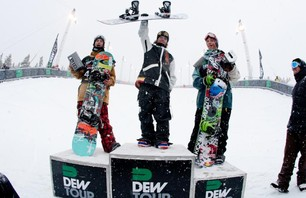 Breck Dew Tour Men\'s SNB Pipe Finals Gallery