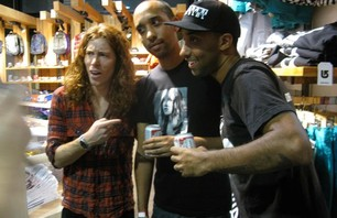 Shaun White at LA Burton Store Photo 0005