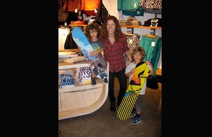 Shaun White at LA Burton Store Photo 0003