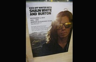 Shaun White at LA Burton Store