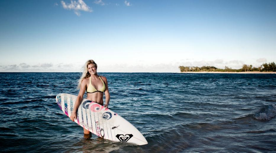 Surfer Girls on the North Shore by Surfline