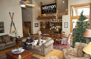 Salomon\'s Pimp House in Breck for Dew Tour