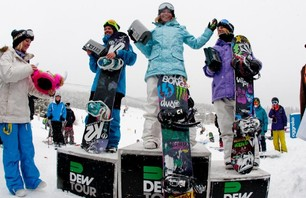 Breck Dew Tour Women\'s SNB Slope Finals Gallery