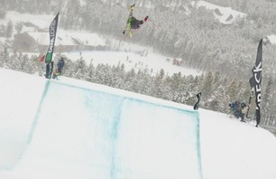 Breck Dew Tour Men\'s SKI Slope Finals Gallery