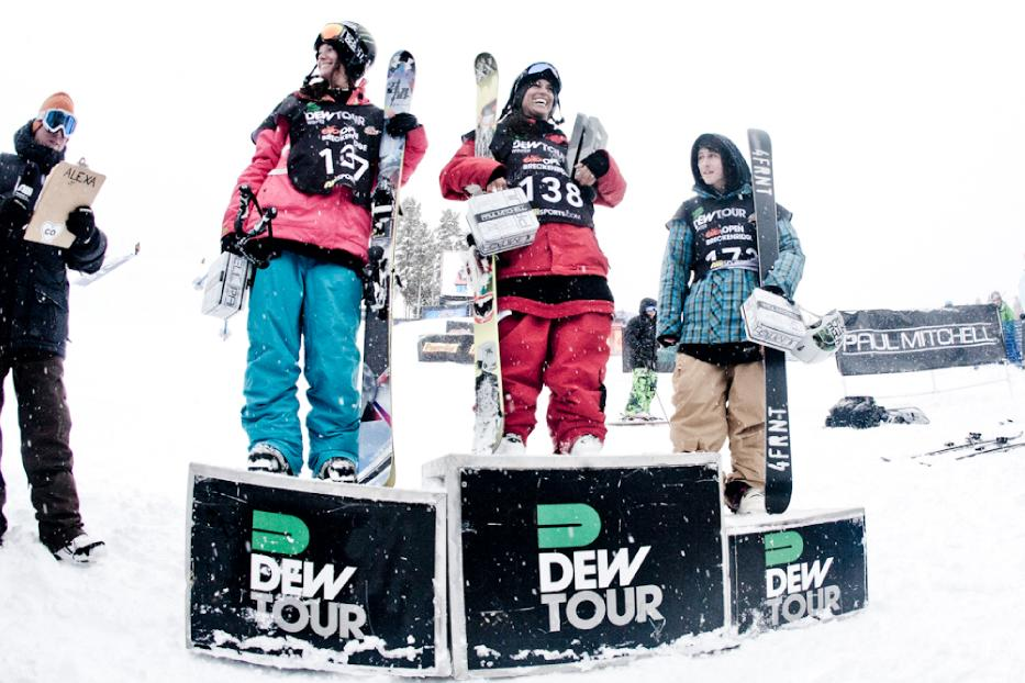 Breck Dew Tour SKI Slope Women\'s Finals Gallery