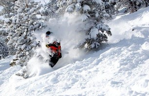 Mammoth Unbound Pow Day - Jan 4