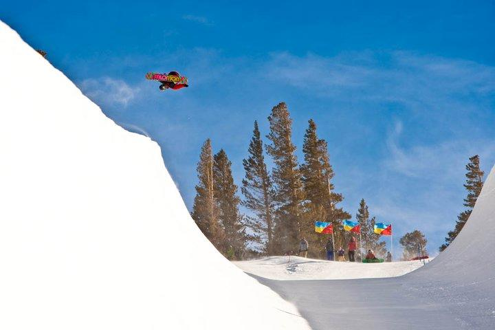 Burton Am Pipe Series at Mammoth