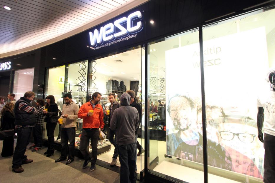 WESC + Arkitip Premiere at Santa Monica Place Gallery