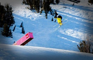 Mammoth Unbound Park Skiing - Jan 17th
