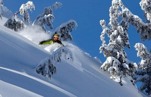 Mammoth Pow Turns, Dec 23, 2010