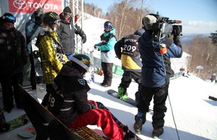 Women\'s Snowboard Slopetsyle Finals Gallery - Dew Tour Killington Photo 0001