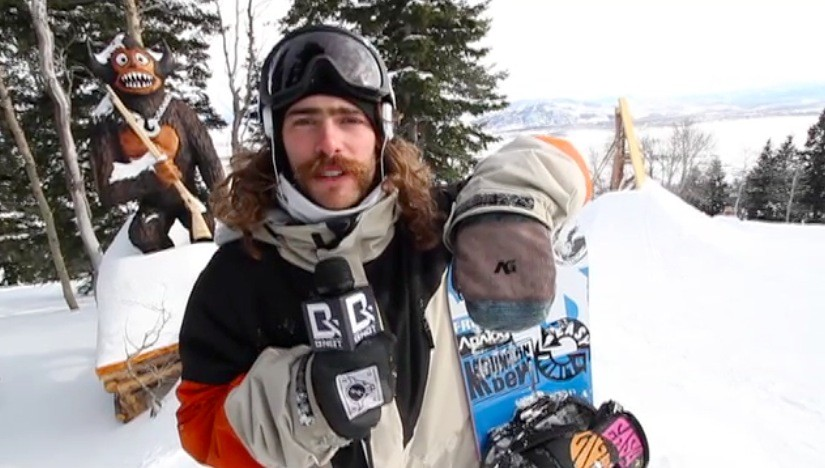 Danny Davis at Jackson Hole Stash