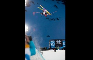 Winter X Games Europe - Men\'s Ski Pipe Finals Photo 0004
